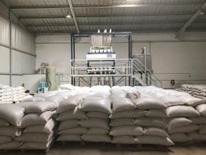Chia seeds factory